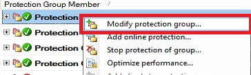 GEEQL_DPM_Modify_Protection_Group